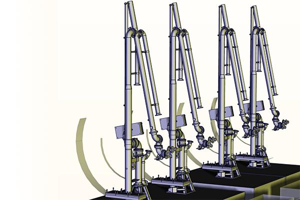 Marine Loading Arms - Zipfluid