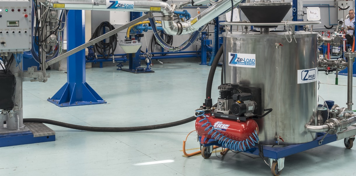 Zipfluid Manufacturing: Loading System