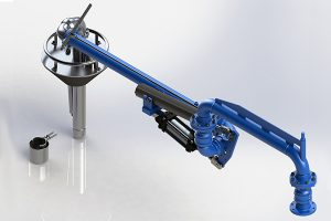 LA130v Top loading arm vapor recovery