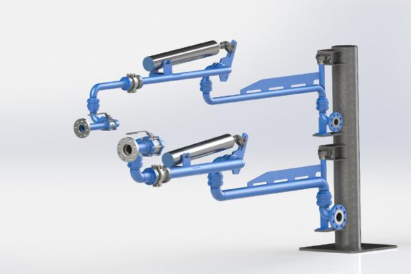 LPG Loading Arms - LA300-LA400 Loading bay