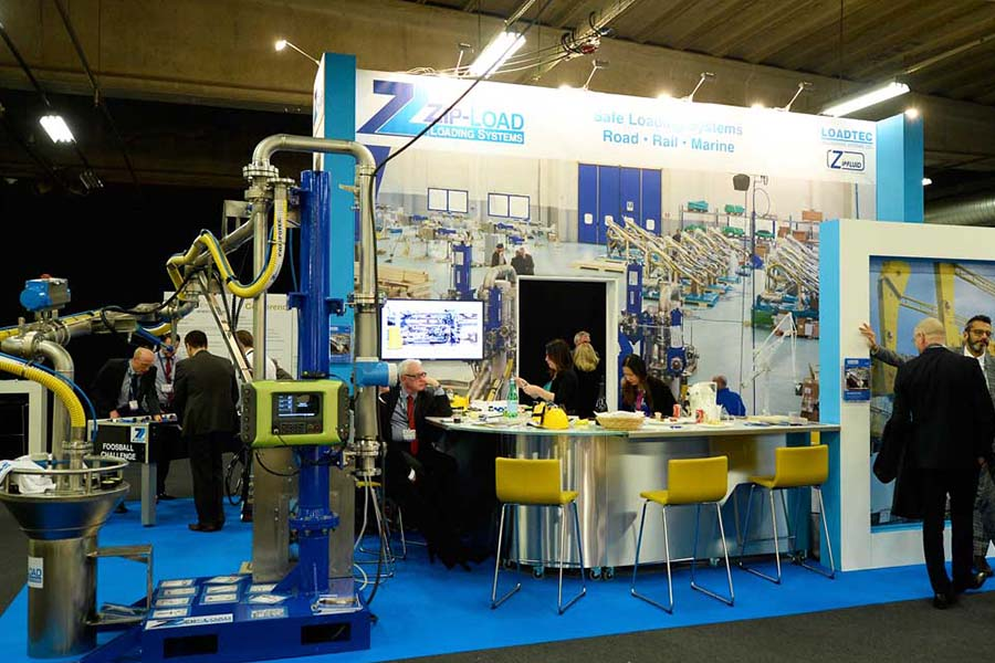 Zipfluid Loading Arms at StocExpo 2018 Rotterdam