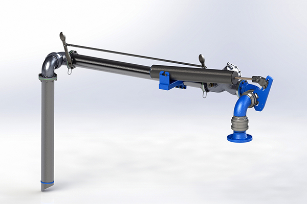 Top Loading Arm Fixed Range - LA110