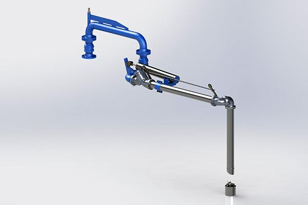 LA130 - Top loading arm long range