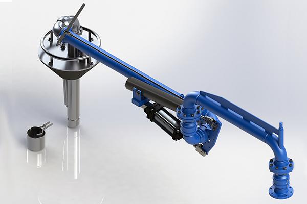 LA130v Top loading arm vapor recovery