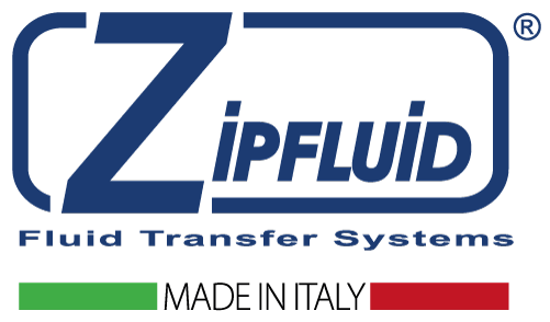 Zipfluid, fluid transfer system, made in Italy
