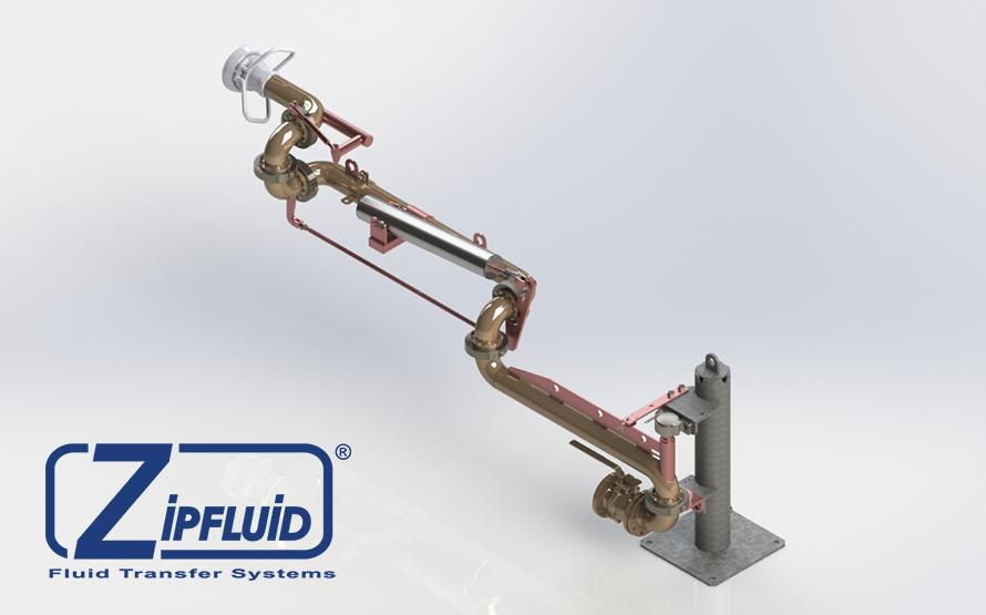Bracci di carico e scarico per carburante adblue
