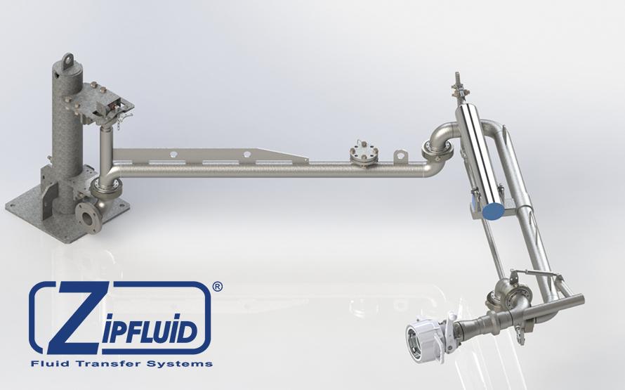Bracci di carico e scarico per carburante condensato