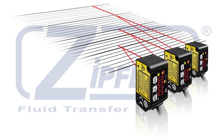 Sensori laser per i bracci di carico e scarico Zipfluid