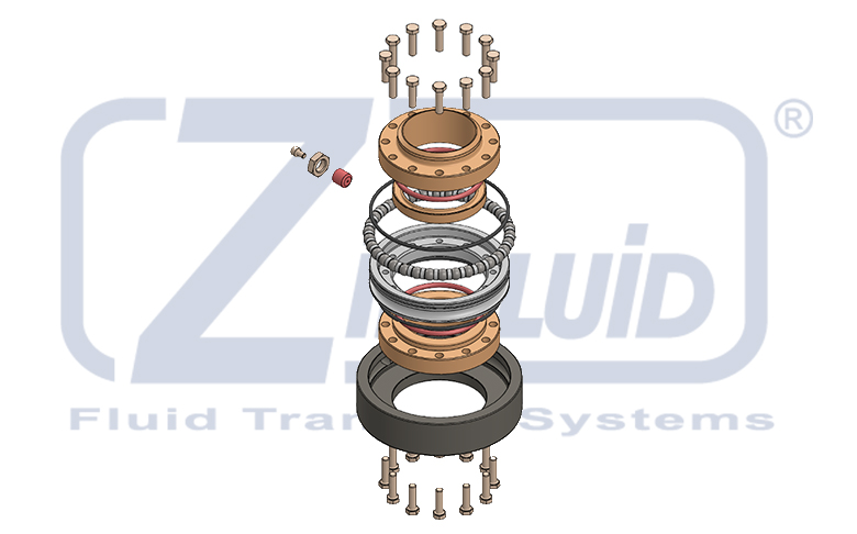 Swivel Joints main components of Zipfluid Loading Arms
