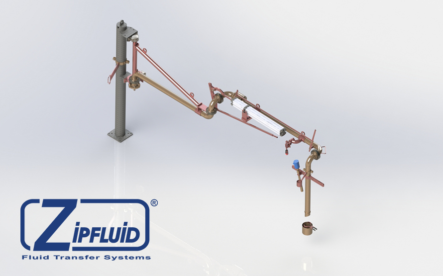 Zipfluid loading and unloading arms for food&beverage: Tartaric Acid