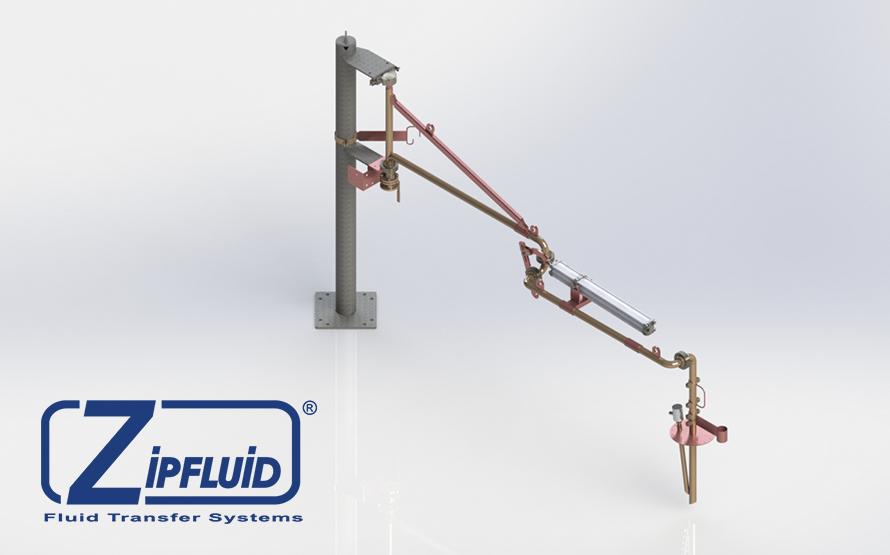 Zipfluid bracci di carico e scarico per prodotti alimentari: Lanolina