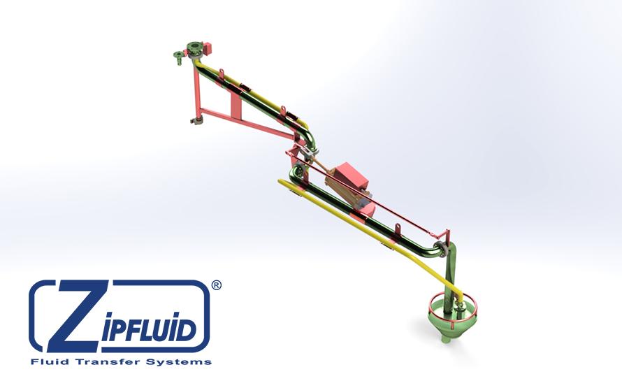 Zipfluid bracci di carico e scarico per prodotti chimici: Acido Fosforico