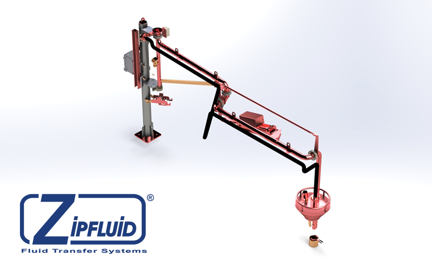 Zipfluid loading and unloading arms for chemicals: Nitric Acid