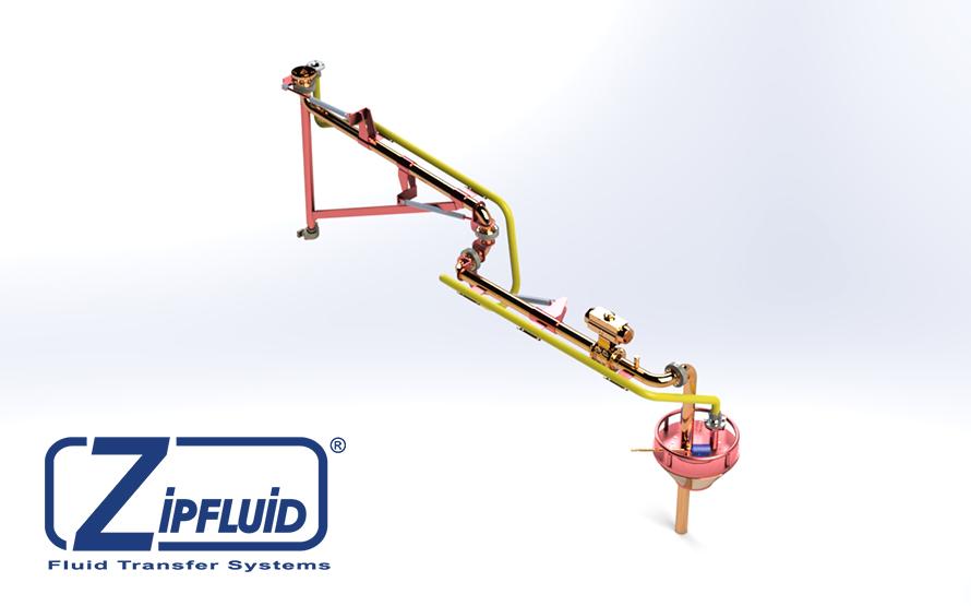 Zipfluid bracci di carico e scarico per prodotti chimici: Formaldeide