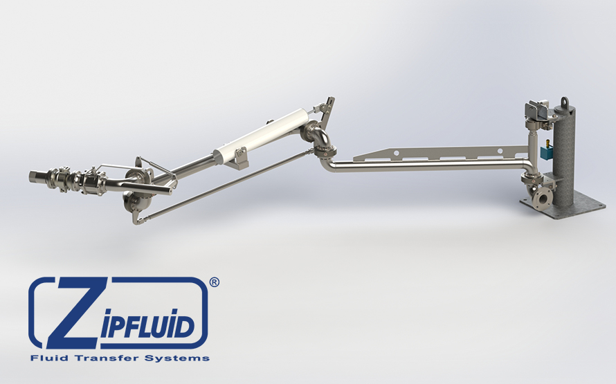 Zipfluid Loading Arms for chemical products: Propylene Glycol