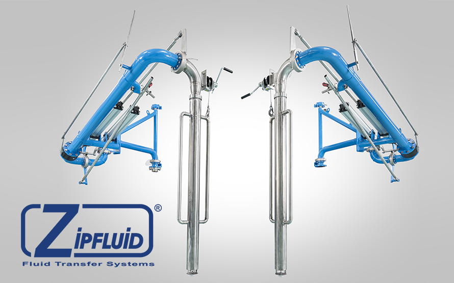 Zipfluid Loading Arms for Methanol
