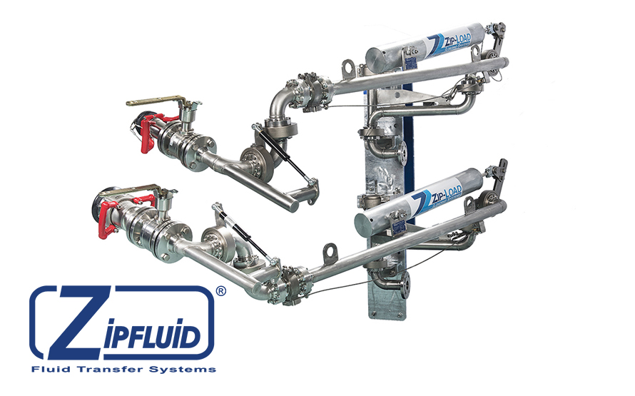 Zipfluid Loading Arms for Methyl Chloride