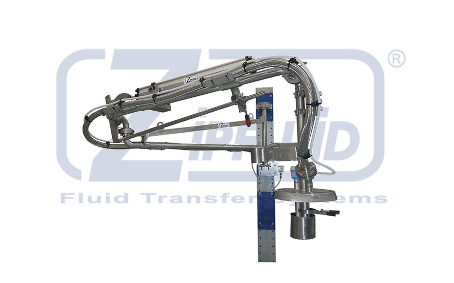 Zipfluid Loading Arms for Solvents