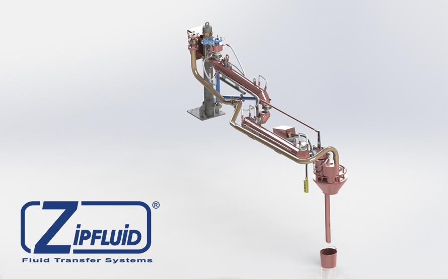 Zipfluid bracci di carico e scarico per prodotti chimici: Zolfo Liquido
