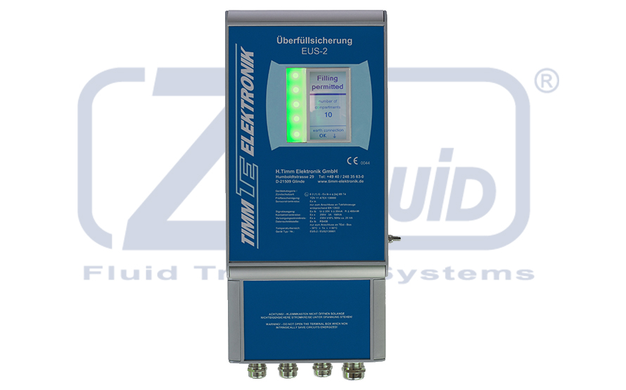 Overfill Monitor TIMM for Zipfluid loading arms
