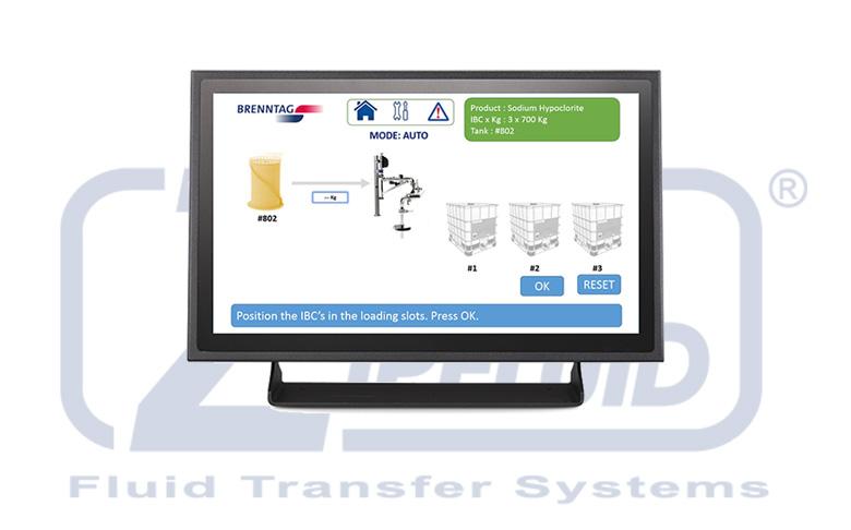Zipfluid, bracci di carico con tecnologia touch screen